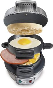 This unit is among the top best sandwich creators as it is intended for breakfast sandwiches on English biscuits, little bagels, rolls, or comparative things. The framework lets you effectively cook any morning meal sandwich in only 5 minutes comfortably. You can utilize any new fixings you need, such as cheddar, eggs, ham, and bacon. You can place the entirety of the removable parts in the dishwasher, and there are plans included. The surface is tough and non-stick for simple use and support. Likewise, the non-slide highlight of the accomplishment ensures that the gadget doesn't slip or slip when set on a level surface. A programmed indoor regulator control accessible inside the sandwich creator keeps the sandwiches from wrecking due to overheat. There is a red light pointer present close to the opening. This shows when the gadget is on and kills the gadget when the sandwiches are finished. This framework drives the best 12 best sandwich producers since it can make both of you breakfast sandwiches in a short time, sparing a lot of time. It lets you utilize new eggs, cheddar, and different things, with a particular spot for everything. It works consummately with English biscuits just as other correspondingly molded things, including bread rolls and littler bagels. There is a clock on the framework, and it will discernibly ring when done. You can put every single removable part in the dishwasher, and there are plans alongside the guidelines. With these sandwich producers and panini squeezes, you never need to leave your home again to exploit a warm, toasted sandwich, regardless of whether you need to pack it with fixings. Before making your choice, consider what number of sandwiches you need to make without a moment's delay and whether you need to utilize customary square bread or make breakfast sandwiches with English biscuits. When you have decided your prerequisites, you are prepared to purchase a unit and get a charge from inventive toasted sandwiches. With the sandwiches, you can likewise effectively make your delicious crepes, and here are my ideal crepe creators for your benefit. To cook your eggs, make a point to utilize these best egg cookers. With these sandwich producers and panini squeezes, you never need to leave your home again to exploit a warm, toasted sandwich, regardless of whether you need to pack it with fixings. Before making your choice, consider what number of sandwiches you need to make without a moment's delay and whether you need to utilize customary square bread or make breakfast sandwiches with English biscuits. When you have decided your prerequisites, you are prepared to purchase a unit and get a charge from inventive toasted sandwiches. Likewise, on account of a clingy surface, you may discover the bread materials which can be irritating now and again. Indeed, that is why searching for a non-stick highlight is of most extreme significance, and the simplicity of cleaning relies on the utilization. With the sandwiches, you can likewise effectively make your tasty crepes, and here are my ideal crepe creators for your benefit. To cook your eggs, make a point to utilize these best egg cookers. Working at a voltage of around 210-250 Volts of intensity, the gadget devours around a 1000 watts of intensity. Such a warming force is sufficient and can warm up the barbecue quickly. Likewise, the non-slide highlight of the accomplishment ensures that the gadget doesn't slip or slip when set on a level surface. A programmed indoor regulator control accessible inside the sandwich creator keeps the sandwiches from wrecking due to overheat. There is a red light pointer present close to the opening. This shows when the gadget is on and kills the gadget when the sandwiches are finished. You should simply put the bread in the creator and approach your work. You can anticipate great and appropriately cooked hot sandwiches. Working at a voltage of around 210-250 Volts of intensity, the gadget devours around 1000 watts of intensity. Such a warming force is sufficient and can warm up the barbecue quickly. Likewise, the non-slide highlight of the accomplishment ensures that the gadget doesn't slip or slip when set on a level surface. A programmed indoor regulator control accessible inside the sandwich creator keeps the sandwiches from wrecking due to overheat. There is a red light pointer present close to the opening. This shows when the gadget is on and kills the gadget when the sandwiches are finished. You should simply put the bread in the creator and approach your work. You can anticipate great and appropriately cooked hot sandwiches. On a, by and large, this gadget is worth a buy and accompanies a one year producer's guarantee for any imperfections to the item during the residency of the guarantee. sample